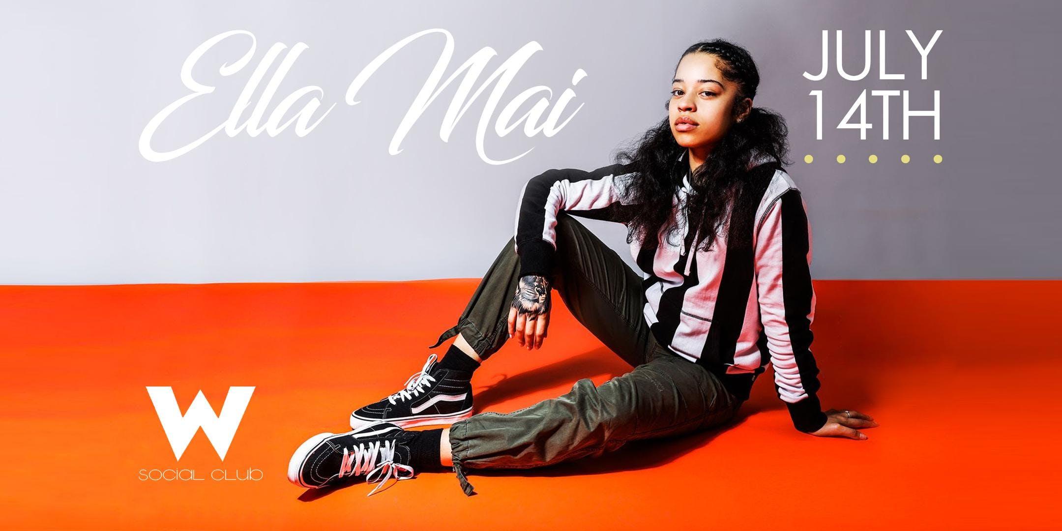 Breakout British RampB singersongwriter Ella Mai has announced her selftitled debut studio album Ella Mai arrives October 12 via 10 SummersInterscope Records and