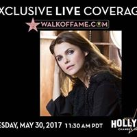 Keri Russell Hollywood Walk of Fame