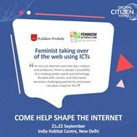 Feminist Taking Over Web Using ICTs