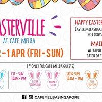 Easterville at Cafe Melba Goodman