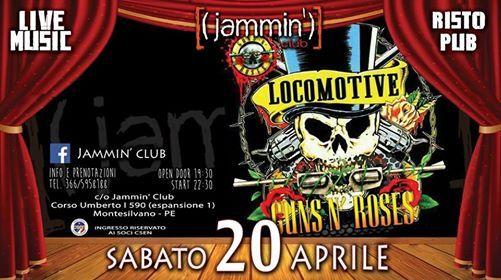 Guns n Roses - Locomotive Night Show@Jammin Club at Jammin