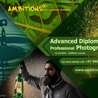 Advanced Diploma in Professional Photography