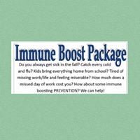 Immune Boost package- Launch