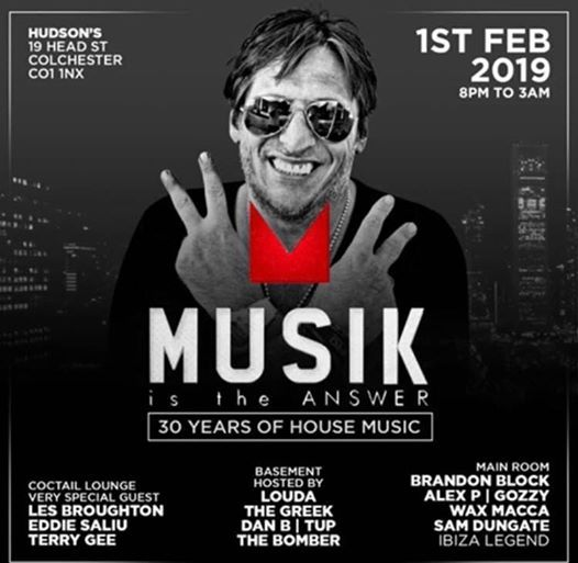 Musik Is The Answer 30 Years Celebration