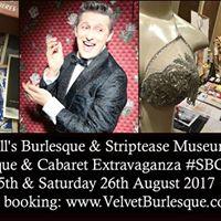 Neil Kendalls Burlesque &amp Striptease Museum at SBCE 2017