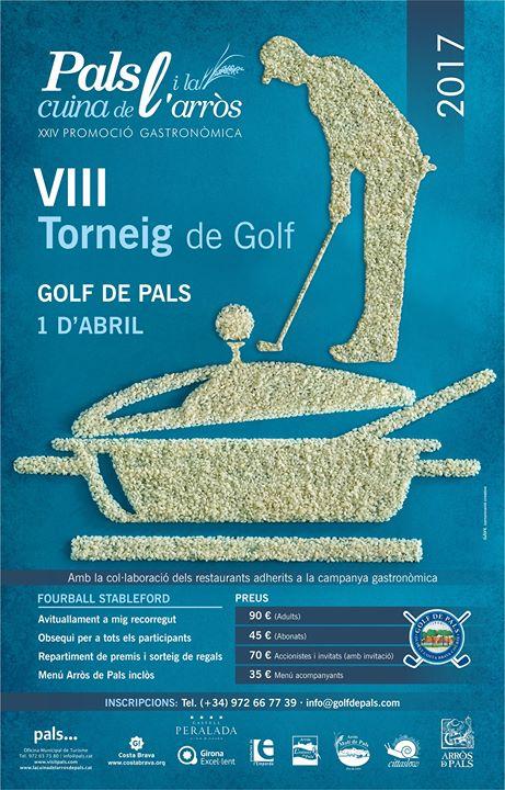 Le festival « Pals et la cuisine du riz » - tournoi golf platja de Pals