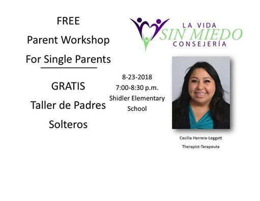 Talleres para padres solteros