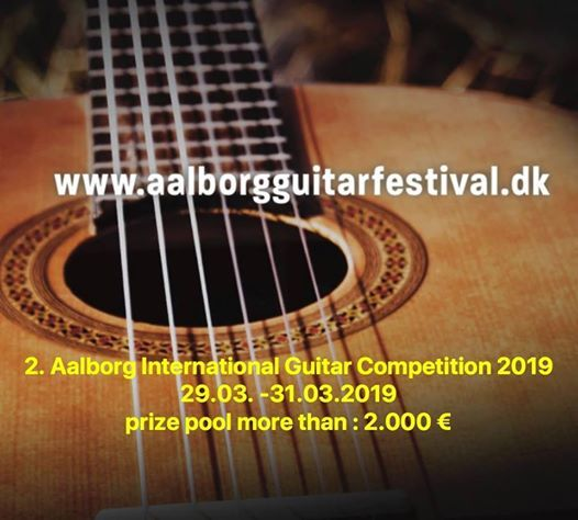 2. Aalborg International Guitar Competition.