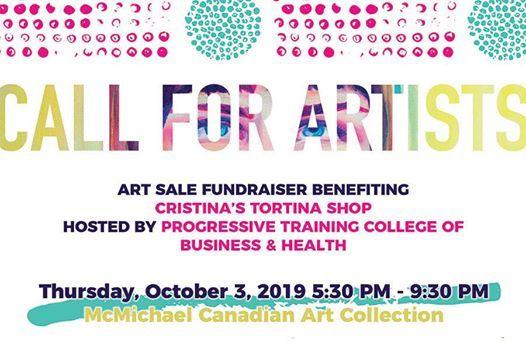 Call For Artists - Art Sale Fundraiser