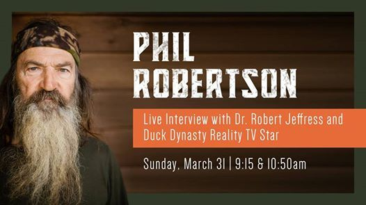 Phil Robertson at First Dallas