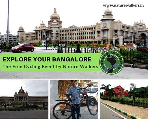 Explore Your Bangalore - Free Cycling Event