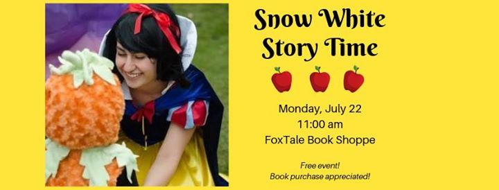 Snow White Story Time at FoxTale Book Shoppe, Woodstock