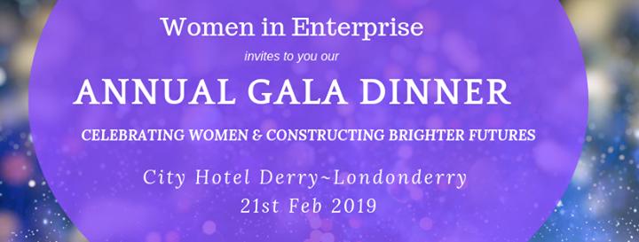 Women In Enterprise Gal dinner with guest speaker Samantha Kelly