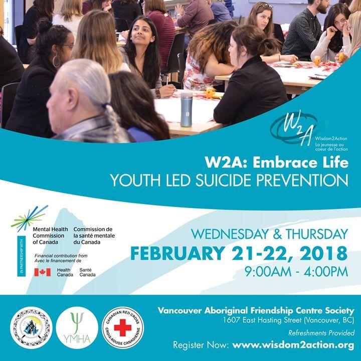 W2A Vancouver Embrace Life