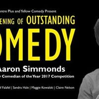 Third evening of Outstanding Comedy for WWC Plus with Aaron Simmonds