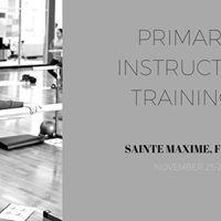 Primary Instructor Training