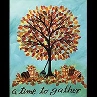 Canvas  A Time To Gather Design