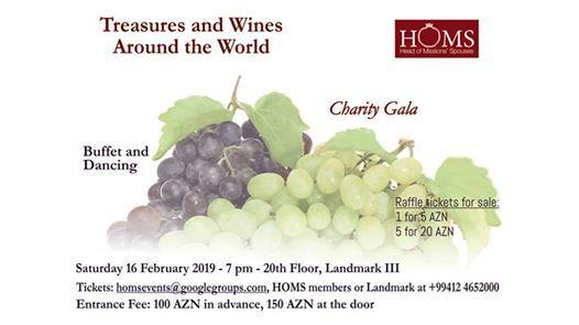 Treasures and Wines Around the World
