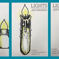 LIGHTS - New Screen Printed Works by Jer Warren