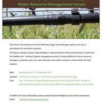 Northern Valleys Water Resource Management Forum