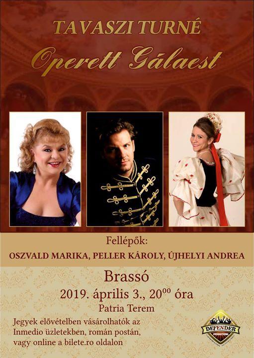 Brass - Operett Glaest a Budapesti Operettsznhz eladival