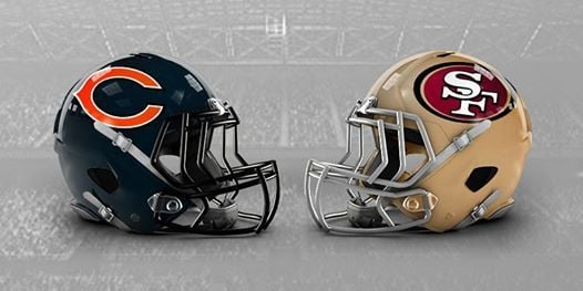 Image result for Bears vs. 49ers