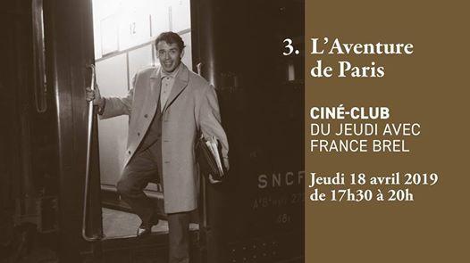 Cin-club - LAventure de Paris