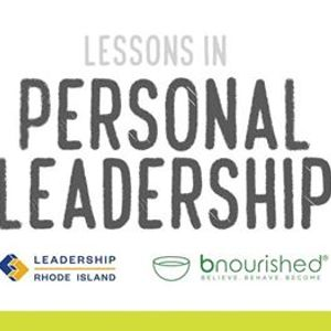 Lessons in Personal Leadership - Introduction to Self-Care