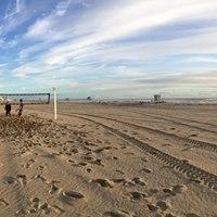 Boys Spring Beach Volleyball Training