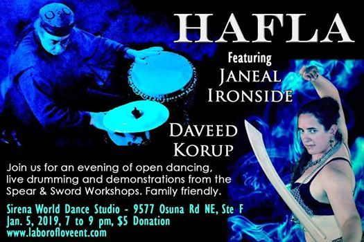Hafla Featuring Daveed Korup And Janeal Ironside