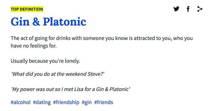 Platonic dating definition