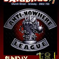Anti-Nowhere League plus The Spirit Levellers Yardbirds