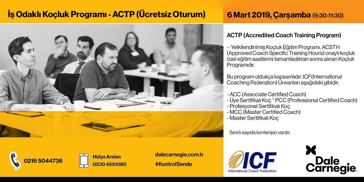 Odakl Koluk - ACTP (cretsiz Workshop)