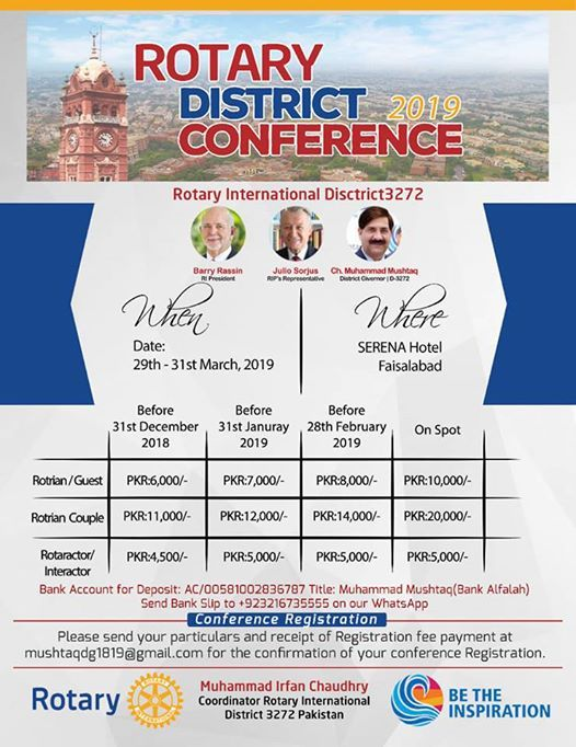 Rotary District Conference