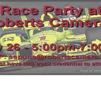 Roberts Camera Race Party
