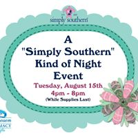 A &quotSimply Southern&quot Kind of Night Event