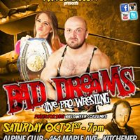 PWA Wrestling October 21st - Kitchener