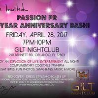 Passion PR Five-Year Anniversary Bash