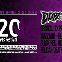 420 Music &amp Arts Festival 2018 Saturday April 21