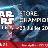 Star Wars Destiny store championship 2017