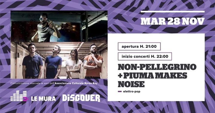 Piuma Makes Noise  Non-pellegrino  Le Mura