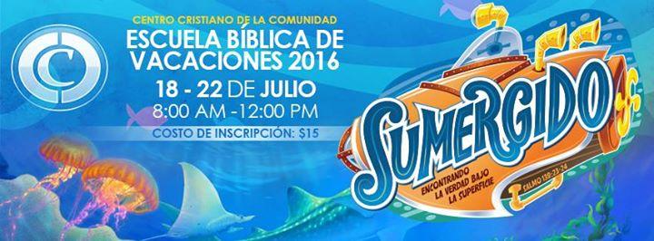 Escuela b blica de vacaciones sumergido at centro for Rio grande arts and crafts festival 2016