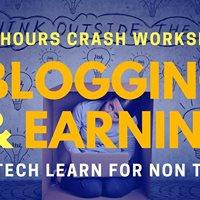 Blogging and Earning 3 Hours Crash Workshop