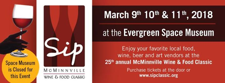 SIP McMinnville Wine & Food Classic