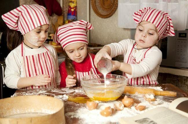 Kids Cooking Class Calzones