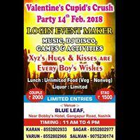 Cupidu0027s Crush VALENTINE DAY PARTY NASHIK