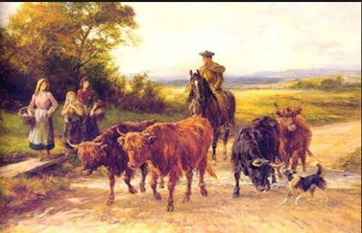 Drovers how they shaped our landscape - Maggie Eltham