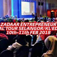 ZEST - ZADAAR Entrepreneur Special Tour SelangorKL Edition