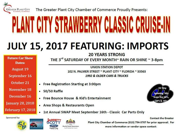 Plant City Strawberry Classic CruiseIn At Plant City FL United - Plant city car show 2018