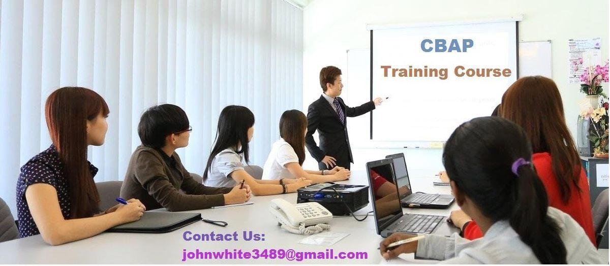 CBAP Classroom Training Course in Berkeley CA